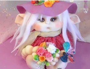 Como hacer una duendecilla soft paso a paso. Hoy traigo esta preciosa muñeca duende muy bonita y original del canal deManualilolis. No tendréis ningún problema al hacerla ya que, lo explica a la perfección y con todo detalle los pasos a seguir. DelCanal Manualilolisen youtube -