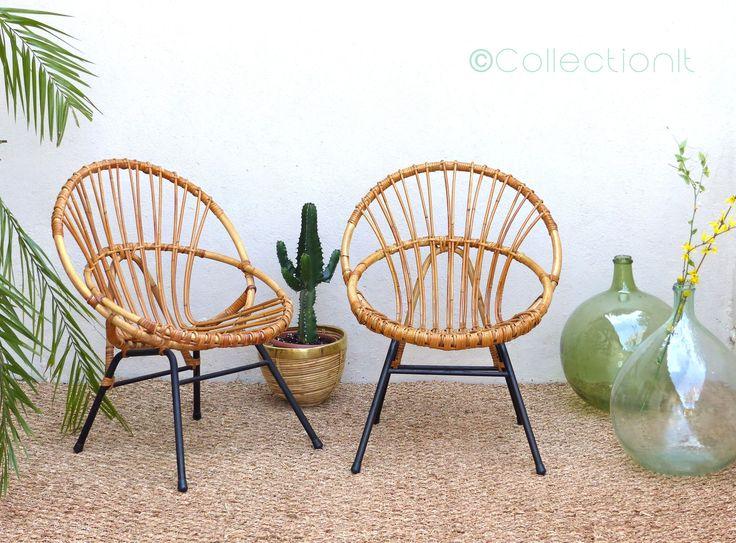 les 25 meilleures id es de la cat gorie fauteuil rotin sur pinterest fauteuil en rotin rotin. Black Bedroom Furniture Sets. Home Design Ideas