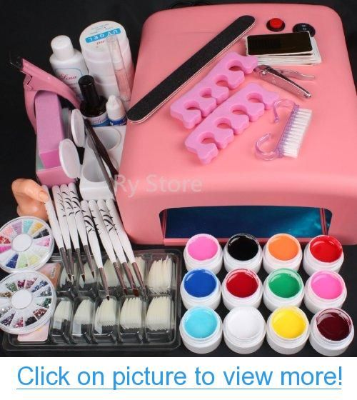 453 best nail art equipment images on pinterest camps creative hot sale 25 in 1 professional nail art set 12 color pure solid uv gel brush prinsesfo Choice Image