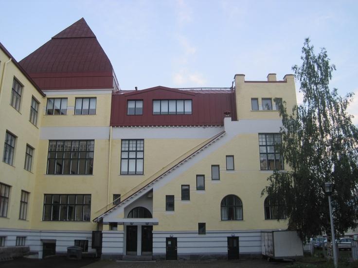 School in Oulu, Finland