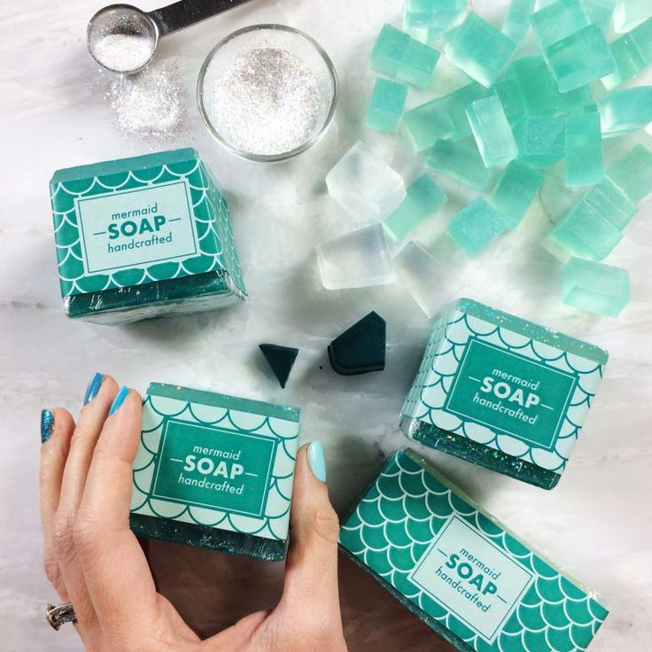 Phenomenal soap site, with instructions as well as products for sale