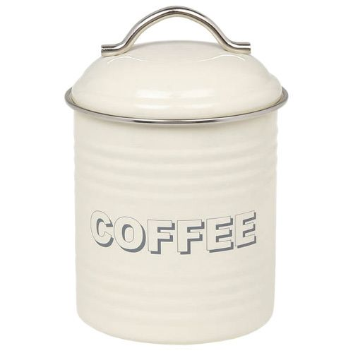 The Kitchen Gift Co - Cream Tea Coffee Sugar Canisters, �14.95 (http://www.thekitchengiftco.com/cream-tea-coffee-sugar-canisters/)