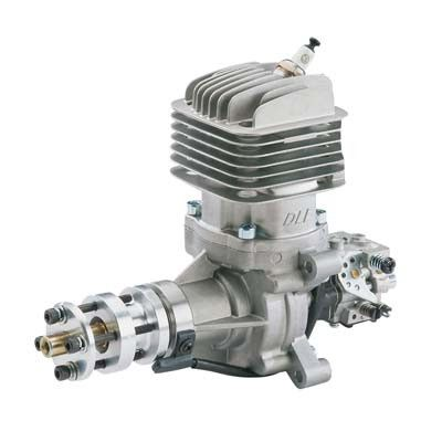 DLE-35RA Rear Exhaust Gas Engine w/EI & Muffler