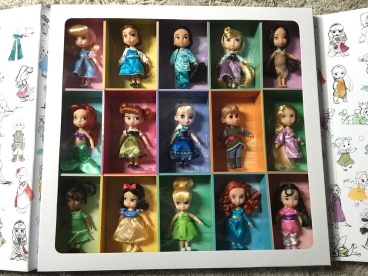 Disney Store Animators Collection Mini Dolls Puppen ausverkauft RAR | eBay