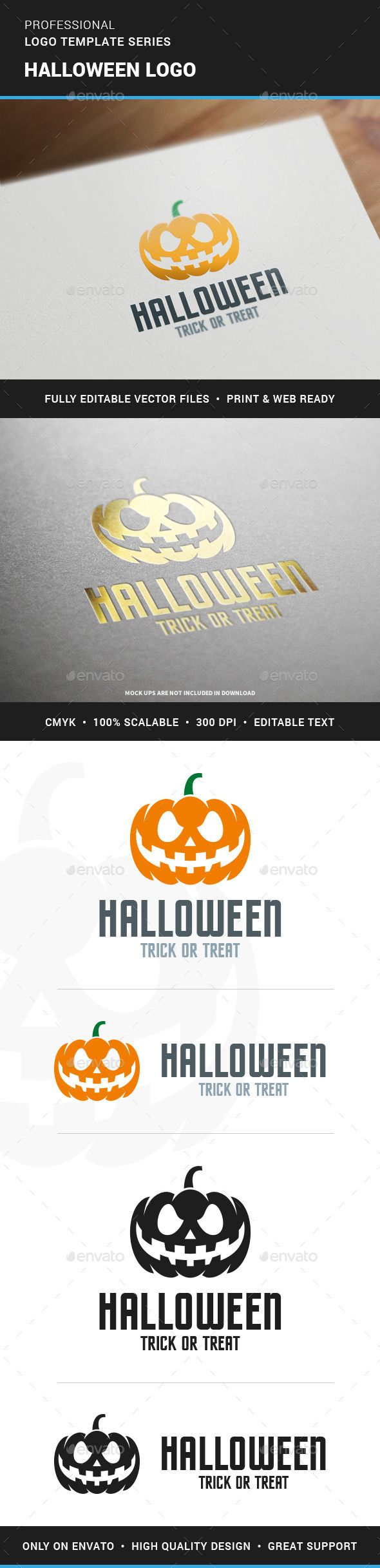 Halloween Logo Template