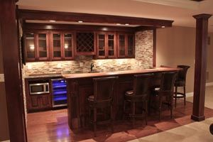 Basement bar designs to improve your home!