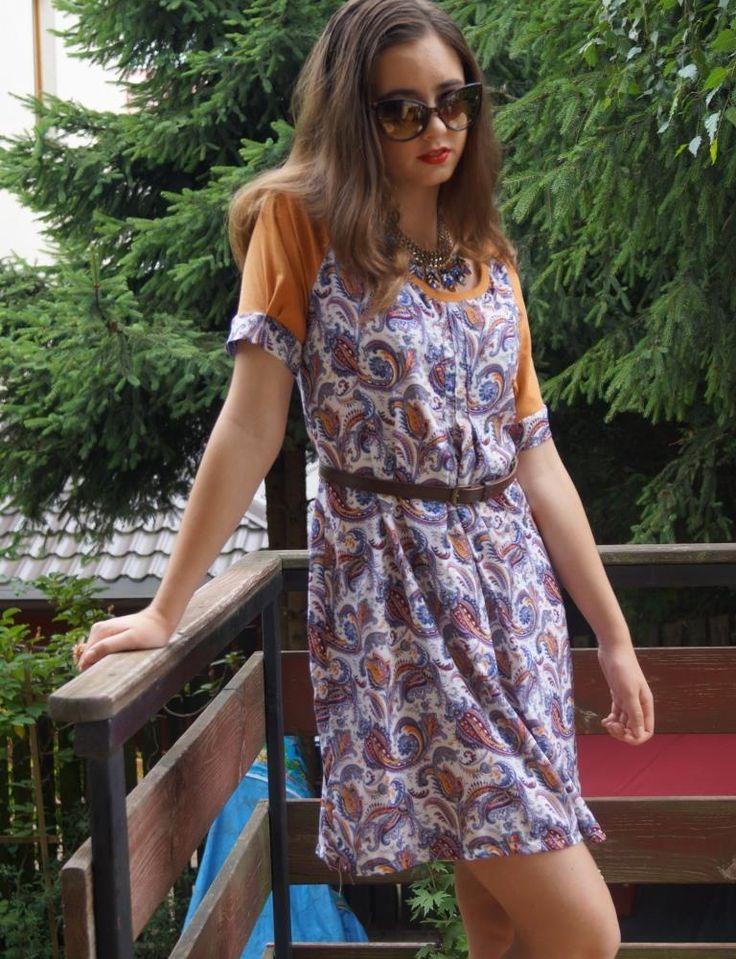 Summer dress, by Puffka&Sue