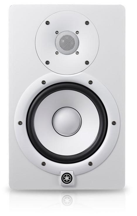 "Yamaha HS7 White 6.5"" Active Studio Monitor"