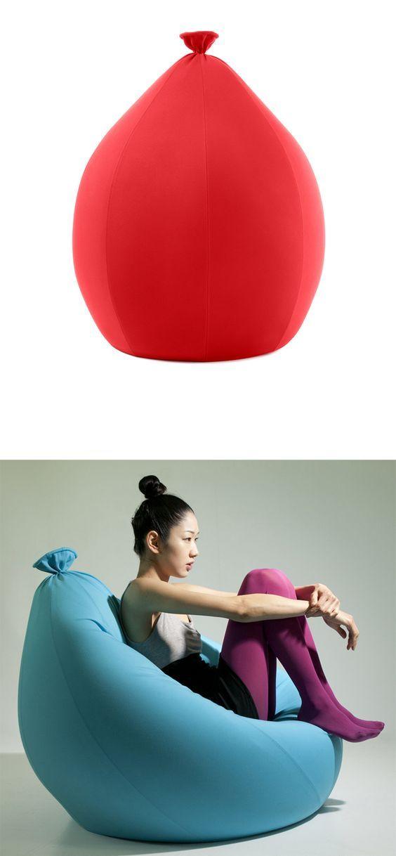 Balloon bean bag: