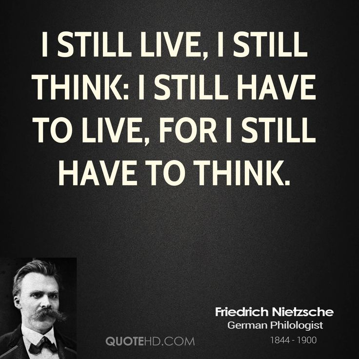 friedrich nietzsche philosophy Friedrich nietzsche is one of the most misinterpreted philosophers the world has ever seen his incomparable, fierce literary style and tenacious will to question all.