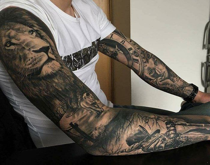 Half Sleeve Tattoo Cost: Tattoo Prices: How Much Do Tattoos Cost? (With Images