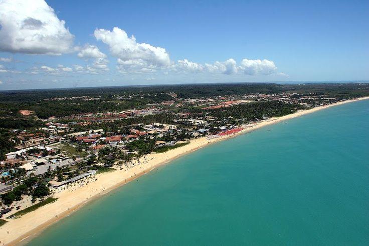 #PortoSeguro en #BRASIL es un lugar que no puedes dejar de visitar. Mira esta maravilla de #mar y #arena. No te lo puedes perder! #playa #viajes #despegar #trip #brazil