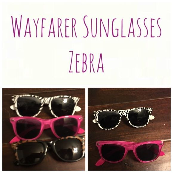 ☍ Wayfarer sunglasses ☍ *Offers welcomed* ☍ Wayfarer sunglasses Zebra ☍ Accessories Sunglasses