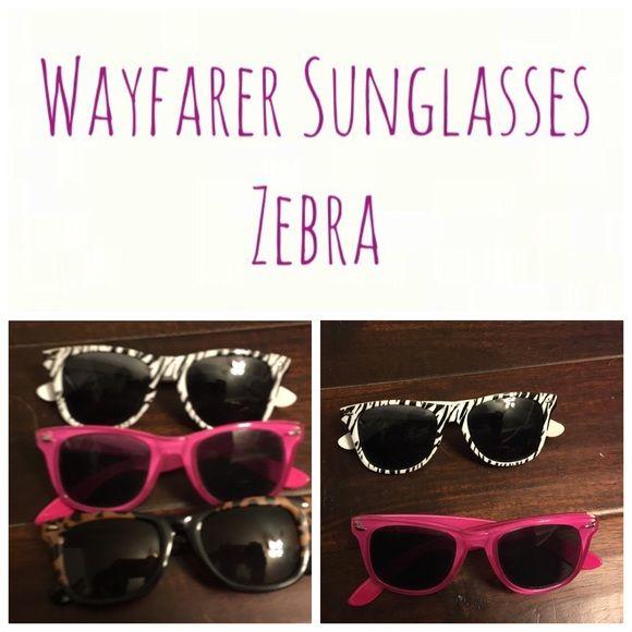 ☍ Wayfarer sunglasses ☍ *Offers welcomed* ☍ Wayfarer sunglasses Zebra ☍ Accessories Sunglasses
