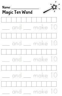 Classroom Freebies: Make Ten