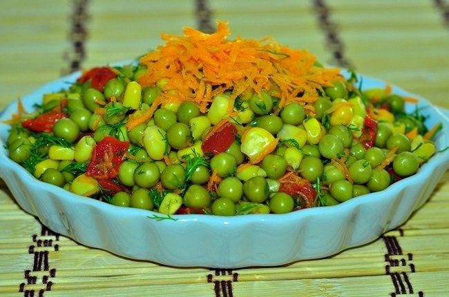 bezelye salatasi