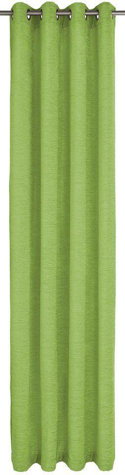 Vorhang, Wirth, (Thermo-Chenille) »Holmsund 288g/qm«, mit Ösen (1 Stück)