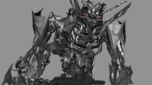 Decepticon - Animation Progression on Vimeo