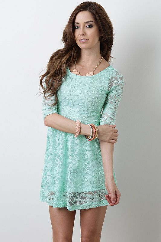 loving all the mint colored dresses this spring!