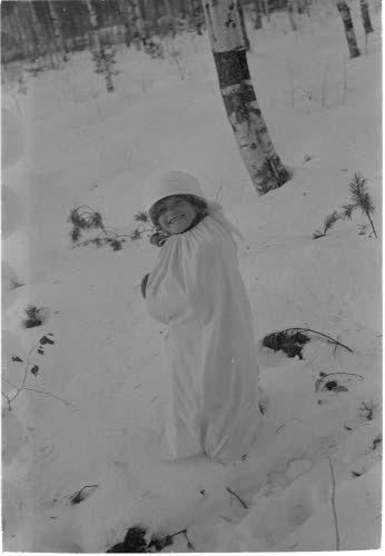 Talvisota - Winter War.... precaution for a small child