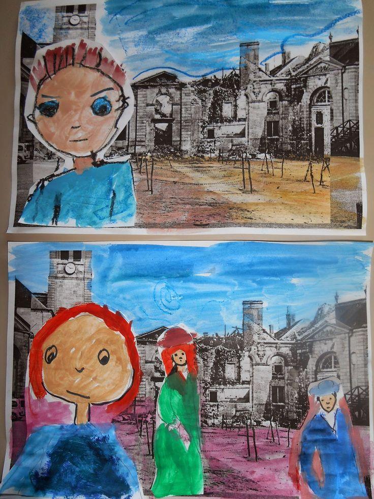 Kindergarten Art Class: ΠΟΛΕΜΟΣ ΚΑΙ ΕΙΡΗΝΗ
