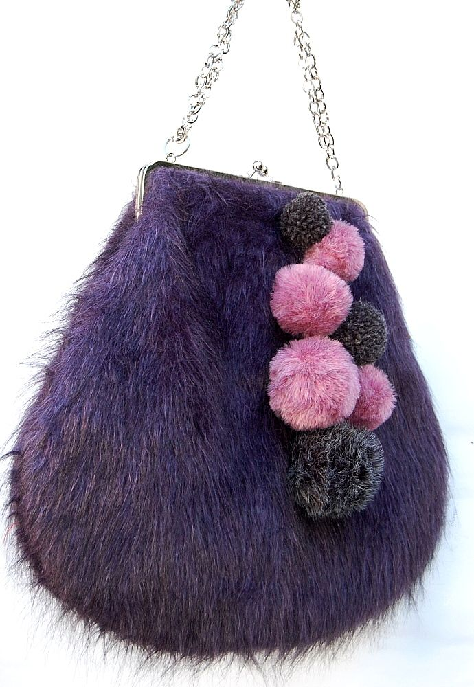 Mia Mia fur handbags