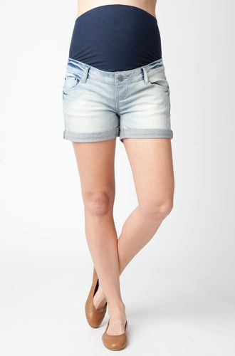 http://www.rockyourbump.co.nz/shop/bottoms/ripe-maternity-denim-shorty-shorts-preorder/