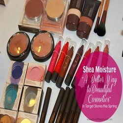@EverythingGirlsLove checks out the new #SheaMoistureCosmetics Collection.