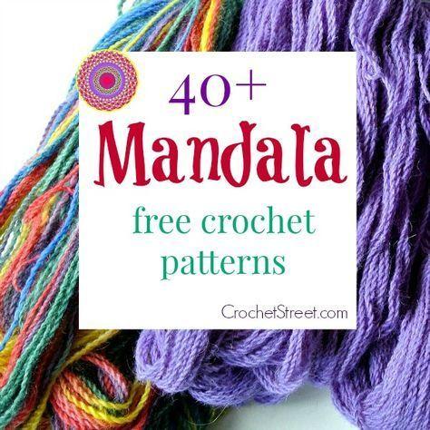 34 besten mandala Bilder auf Pinterest | Häkeln, Stricken und Decke ...