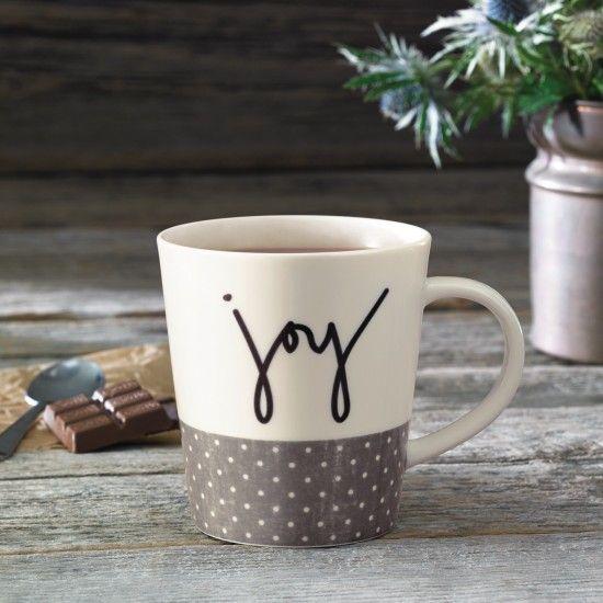 Joy Mug - ED Ellen DeGeneres Crafted by Royal Doulton