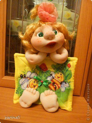 Давно ещё увидела у Атаманши2 такую куколку -нехочуху. Мне она так понравилась…