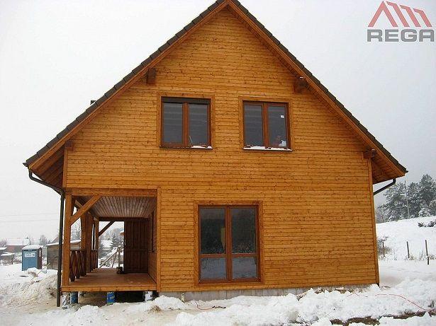 Widok elewacji bocznej  #dom #projekt #design