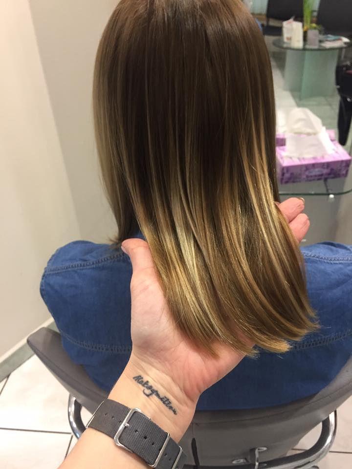Sombre. Wykonanie: Monika. www.fryzjer.lublin.pl #sombre #hair #haircut #hairstyle #dyed #color #woman #włosy #fryzjer #fryzury #kolorowe #damskie #Lublin