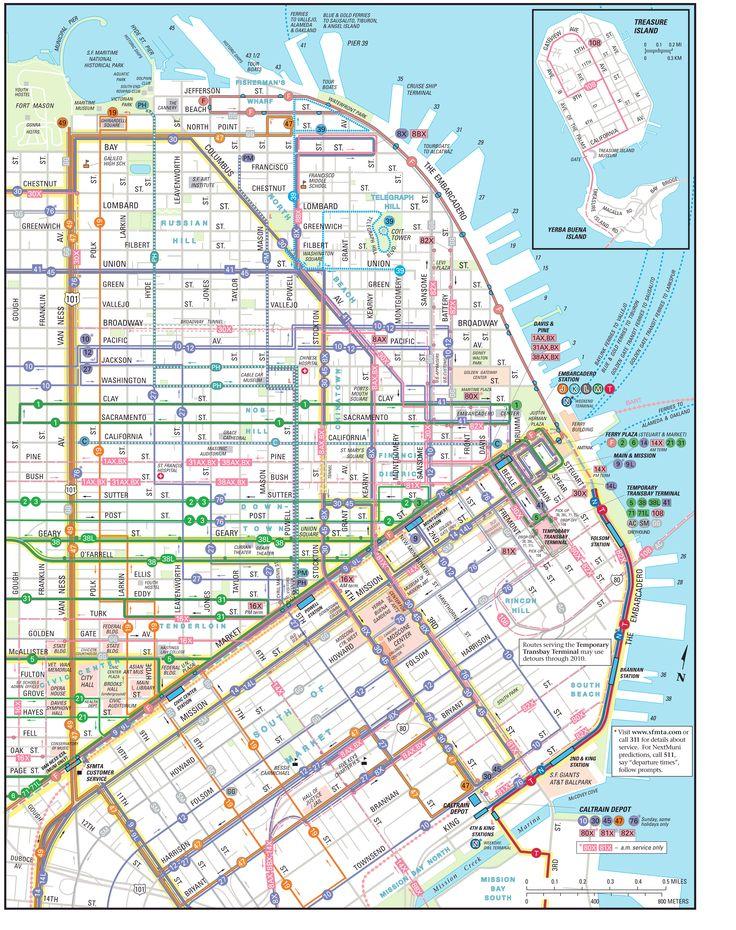 Bus – Plans downtown · San Francisco