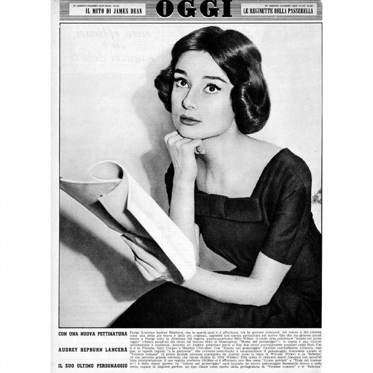 regram @livelikeaudreyhepburn  Audrey on the set of Love in the Afternoon sporting a new hairstyle 1957.  Picture clipping from Oggi magazine 1958.  || #audreyhepburn #audrey #hepburn #audreyhepburnstyle #oldhollywood #oldfashion #OH #classicmovie #classichollywood #classic #classicfashion #vintage #vintageactress #vintagecelebrity #vintagehollywood #vintagefashion #50s #fifties #60s #sixties #goldenage #breakfastatTiffanys #romanholiday #funnyface #thenunsstory #thechildrenshour #sabrina…