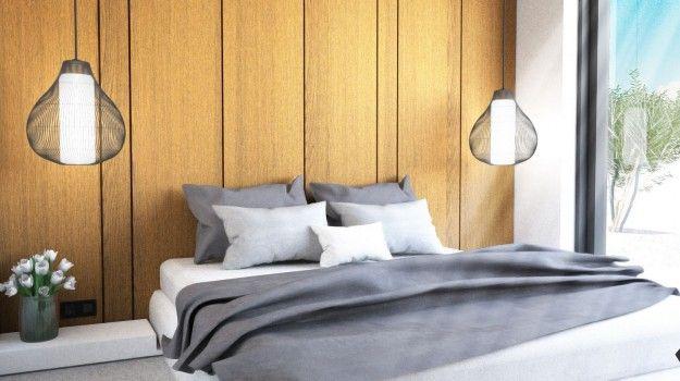 Návrh minimalistickej spálne - interiér Mýtna, Bratislava - Interiérový dizajn / Bedroom interior by Archilab