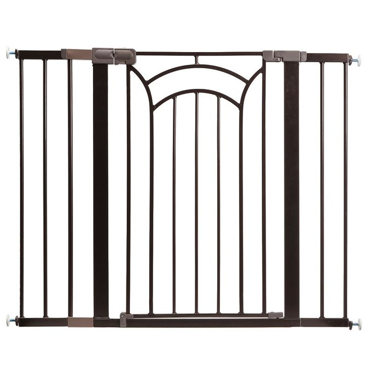 Safety 1st Decor Easy Install Tall & Wide Gate, Multicolor
