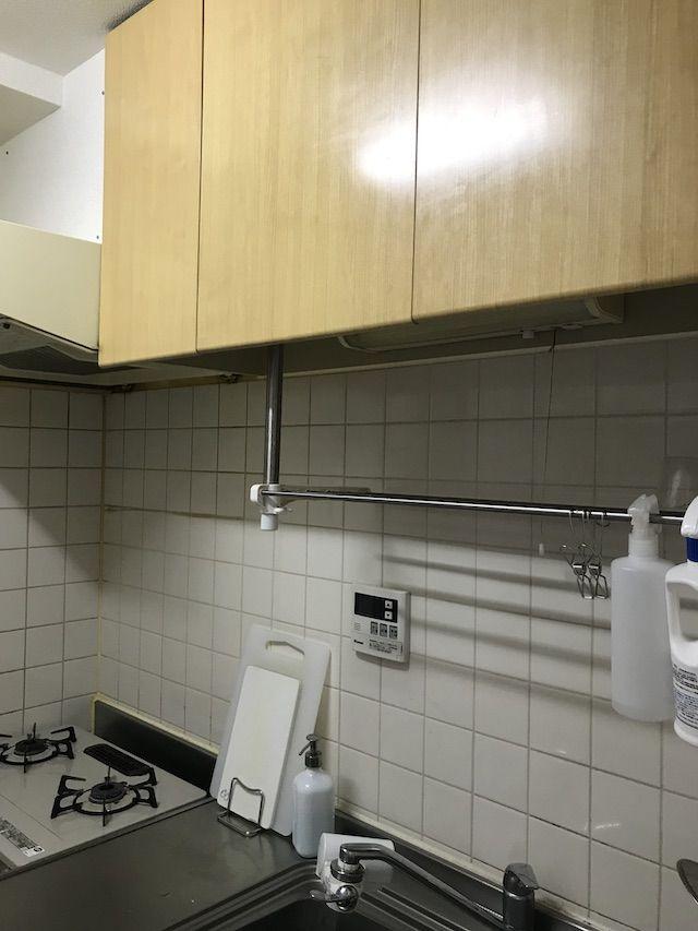 キッチン収納の最難関 吊り戸棚は 取り出しやすさ と 使用頻度 を考え