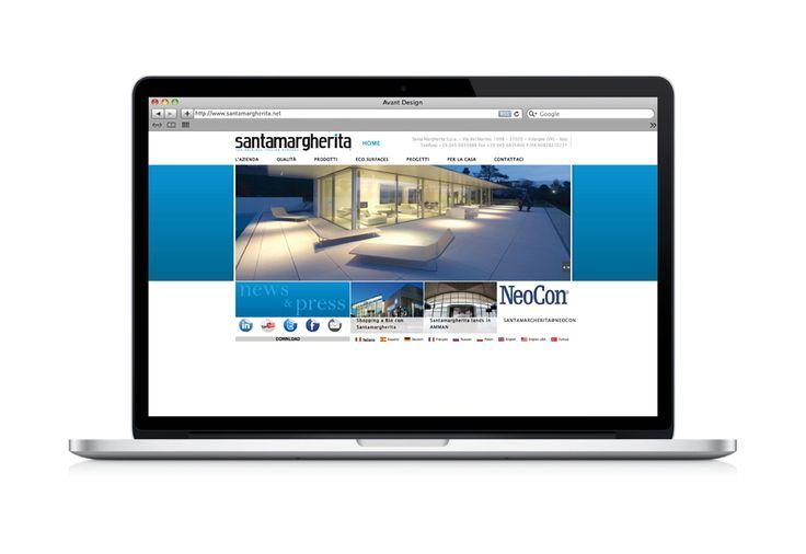 SANTAMARGHERITA sceglie il gusto DDM per cambiare veste grafica al suo website.
