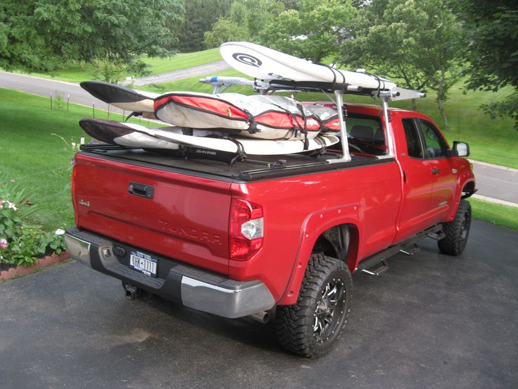 RetraxPRO MX Retractable Tonneau Cover + TracRac SR Truck Bed Ladder Rack System