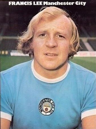 Francis Lee Manchester City 1973