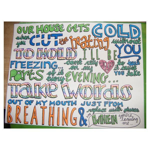ed sheeran lyric drawings - photo #7