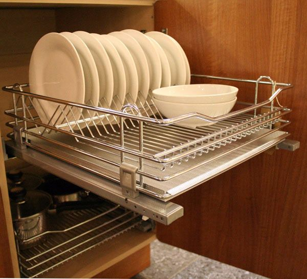 Specially designed to fit crockery, comes complete with drip tray to catch any excess water. Complete with 280mm high door brackets, full extension Blum runners with integrated Blumotion provide luxurious soft closing.