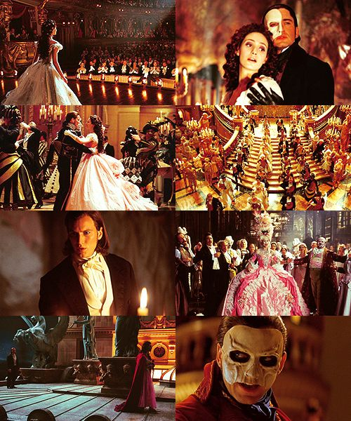 """""""Masquerade! Paper faces on parade. Masquerade! Hid your face, so the world will never find you..."""""""
