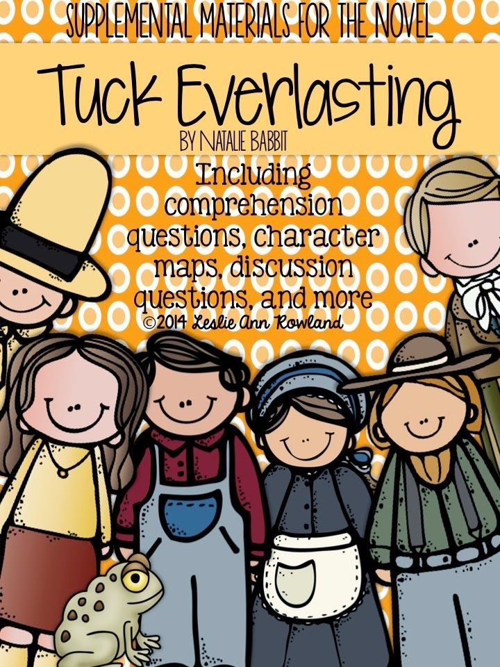 Life in Fifth Grade: Teaching Character Traits (and Tuck Everlasting!)