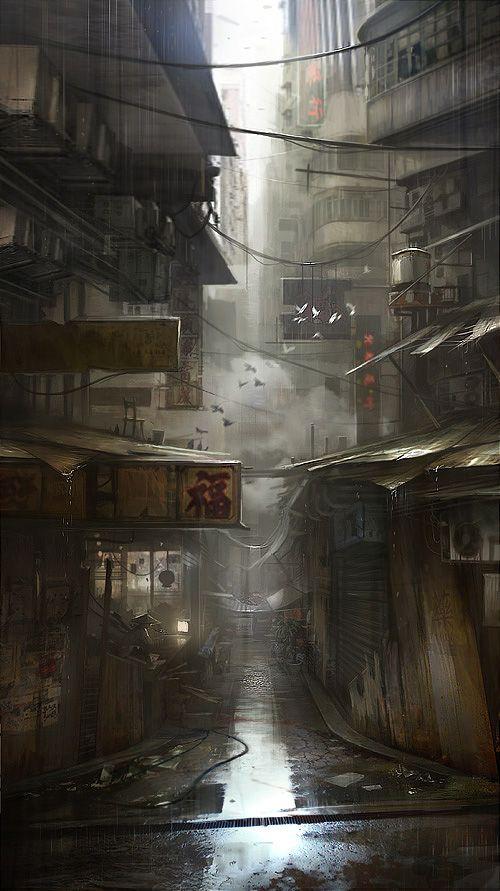 'Chinatown' by Piotr Krężelewski