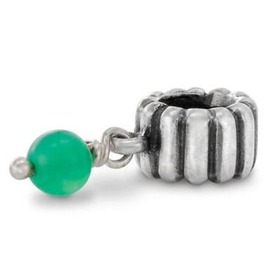 fd3dc8c26 ... Pandora Xmas(Christmas) 2013 Silver and Chrysoprase Dangle May  Birthstone Charm 790166CH Clearance Deals . ...