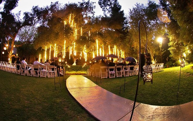 Unique Outdoor Wedding Ceremony Ideas: Best 25+ Outdoor Night Wedding Ideas On Pinterest