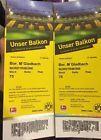#Ticket  2 Tickets BVB Borussia Dortmund vs Borussia Mönchengladbach #deutschland