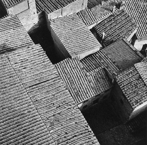 Roof Patterns, San Gimignano, 2002, Robert Hecht